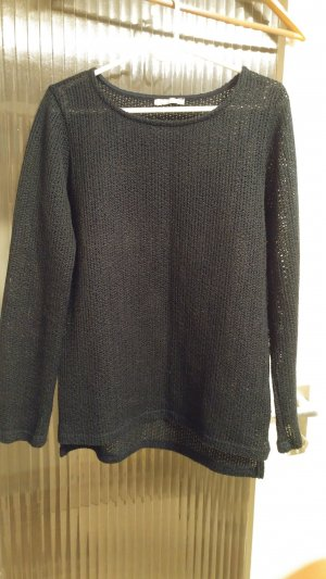 Orsay Coarse Knitted Sweater dark blue