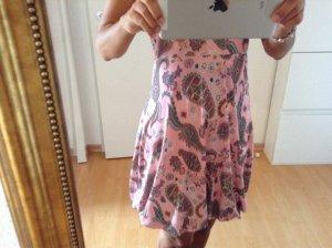 Größe S, Ballonrock Rosa mit Muster