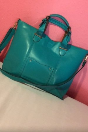 Größe türkise Handtasche