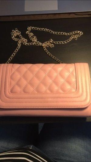 Größere Handtasche in pink