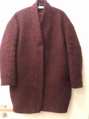 & other stories Oversized Coat blackberry-red