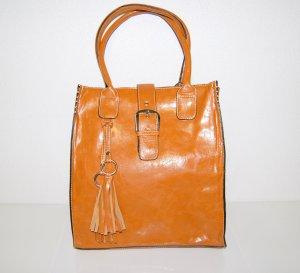 große Beuteltasche - Schultertasche - Handtasche Leder