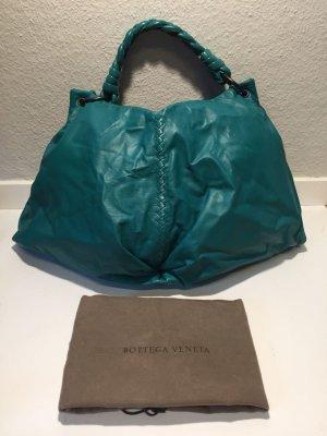 Bottega Veneta Hobos cadet blue leather