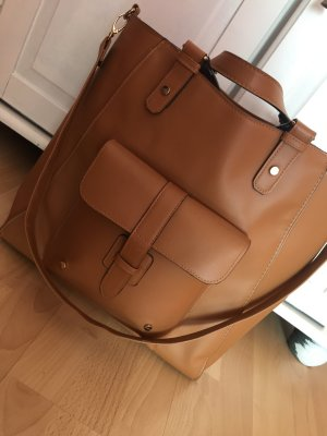 große braune Tasche / Umhängetasche