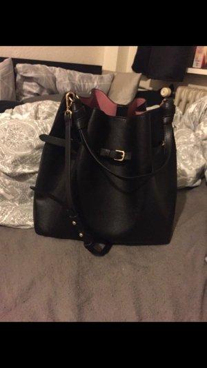 H&M Pouch Bag black-pink