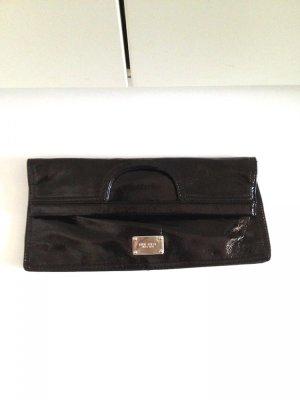 Große Clutch/ Tasche mit Griff von Nine West, Lack, 29x39cm, ungetragen