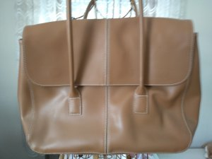 Cyrillus Carry Bag cognac-coloured imitation leather