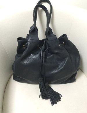 Große dunkelblaue Tasche von Abro