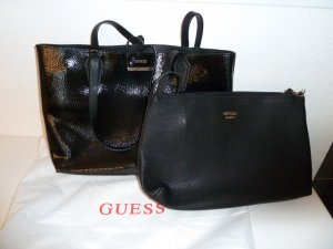 Guess Carry Bag black leather