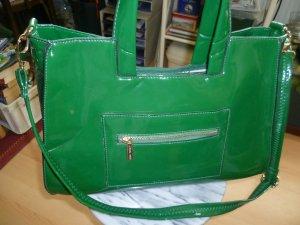 Belle Women Comprador verde Imitación de cuero