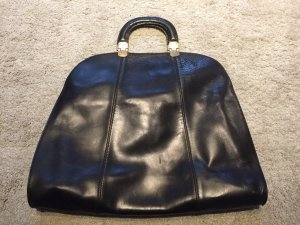Emporio Armani Carry Bag black leather
