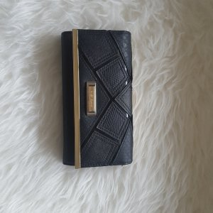 Große Geldtasche schwarz/gold