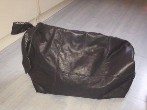 Große graue Tasche Schleife