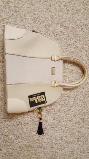 Große Handtasche in creme von Pauls Boutique