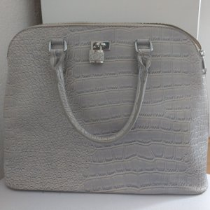 Große Handtasche in Croco-Optik VB