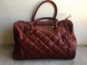 Große Handtasche / Reisetasche in Steppleder Optik