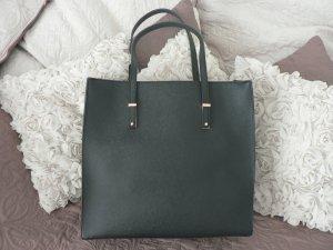 Große Handtasche schwarz/gold LEESUN LONDON