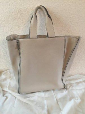 Grosse Handtasche von ROUVEN DINA 4 aus dickem Rindsleder