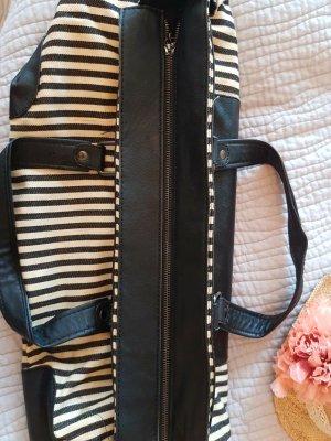 Grosse Handtasche Zara gestreift
