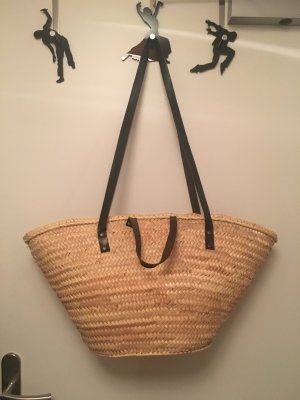 Basket Bag nude-black