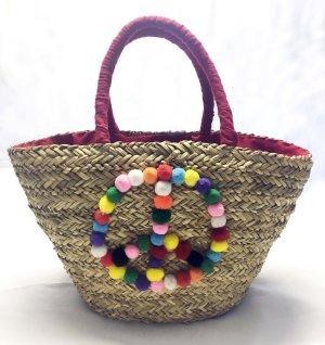 Basket Bag red-sand brown