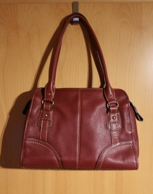 Fossil Carry Bag bordeaux leather