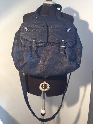 Große Liebeskind Tasche in dunkelblau aus Leder