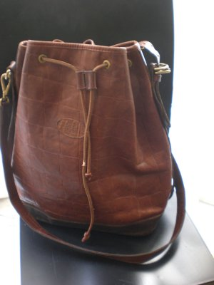 Grosse Mulberry Bucket Bag Leder