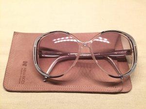 Große Nina Ricci Vintage Sonnenbrille mit Etui