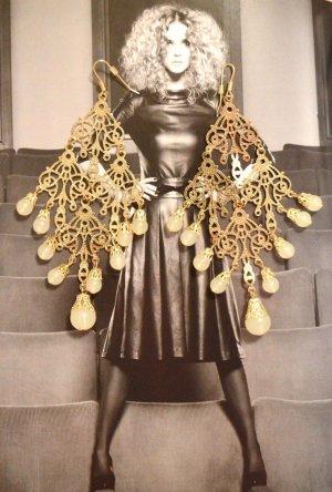 Große Ohrringe Gold New