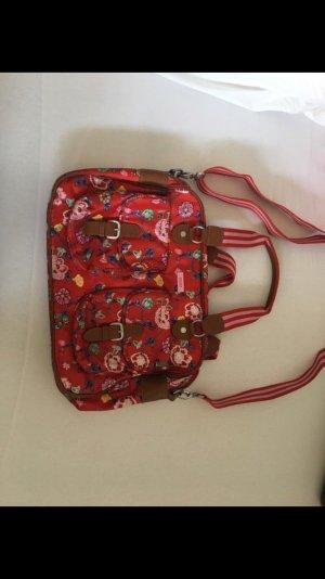 Grosse oilily Tasche in rot