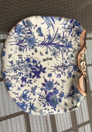 Große Original Gucci Flora Designer Tasche mit Leder wie neu