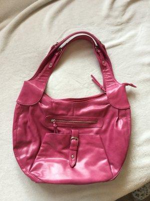 große pinke Handtasche von Tchibo