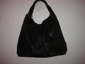 Grosse schwarze Handtasche