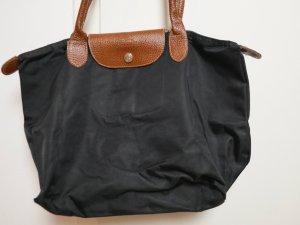 große schwarze LONGCHAMP Tasche