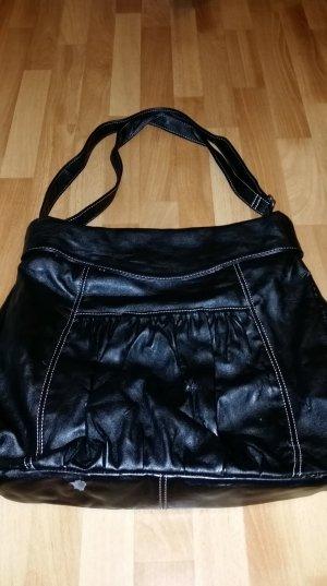 große schwarze Tasche / Shopper