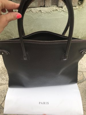 Borsa shopper marrone scuro