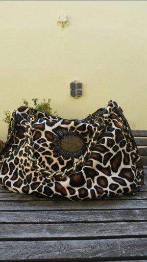 Große shopper Tasche in Giraffen Felloptik