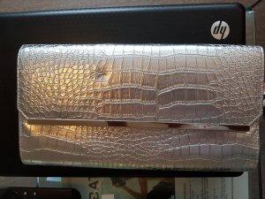 Pochette argenté faux cuir