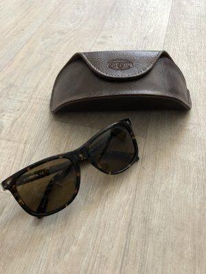 große Sonnenbrille von Fossil wie neu