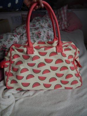 große sporttasche büchertasche tasche shopper bag wassermelonen