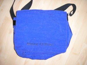 Große Tasche dunkelblau, lila,  Nylon Marc O'Polo
