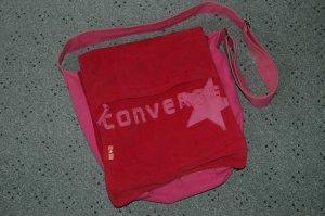 Große Tasche Pink von Converse used Look Umhänetasche