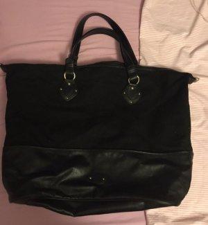 H&M Stoffen tas zwart