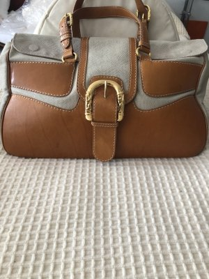 Escada Handbag beige-apricot leather