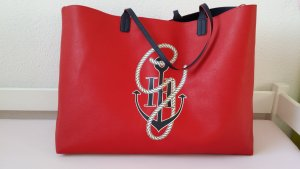 Tommy Hilfiger Shopper red-dark blue