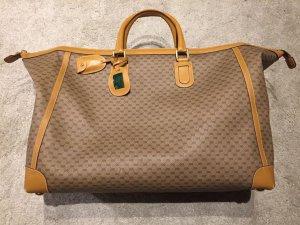 Große Vintage GUCCI Reisetasche mit Monogramm-Muster
