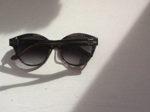 Große Vintage Luxus-Sonnenbrille, cat-eye