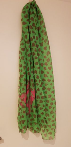 Codello Summer Scarf pink-meadow green
