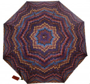 Missoni Walking-Stick Umbrella multicolored polyester